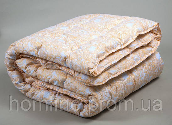 Одеяло Lotus Comfort Tencel желтое 195*215 евро размера