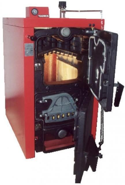 Вугільний котел твердопаливний Viadrus U 22 C - 4 секції 23 кВт