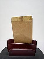Бумажный пакет под шаурму 210х100х40 коричневый