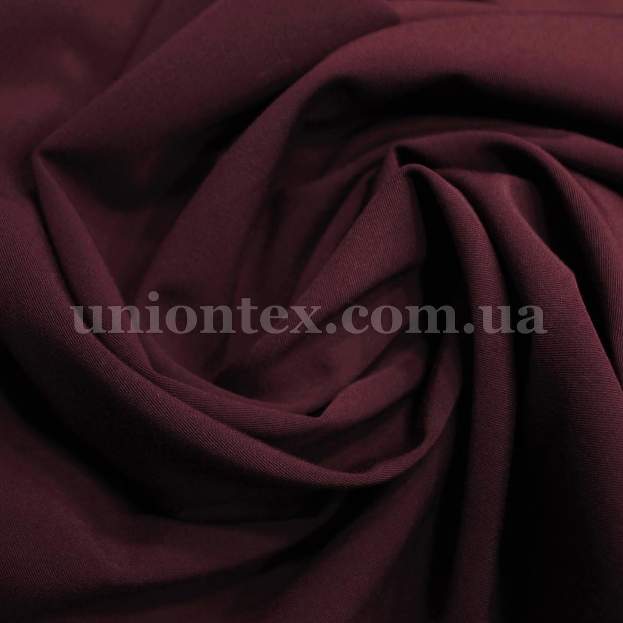 Ткань тиар бордовая