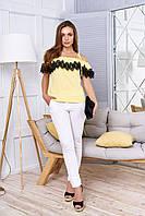 Блуза-майкав романтическом стиле 44-48р