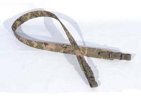 Ремень для ружья прямой камуфляж 5023