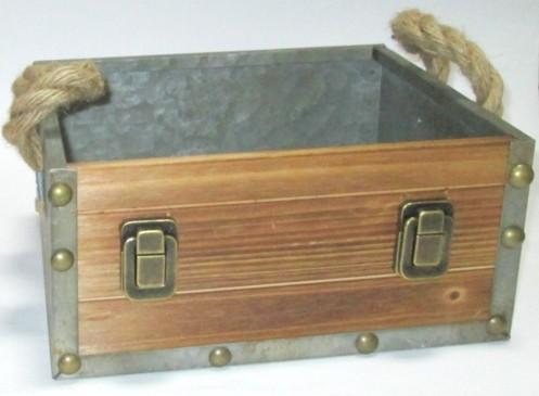 Ящик / кашпо декоративный 28*25 см