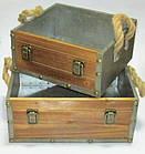 Ящик / кашпо декоративный 28*25 см, фото 2