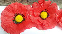 Головки маков (упаковка-140 шт  диаметр цветка-10 см)