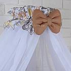 Комплект постельного белья Asik Слоники бежевые и серые 8 предметов (8- 289), фото 7