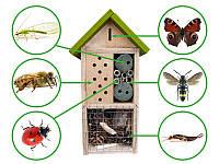 Отель, домик для насекомых. Insect Hotel