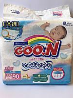 Подгузники Goo.N Гун ХS 90 шт. (до 5 кг)