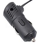 Разветвитель прикуривателя 12/24V 3 гнезда + 1 USB, фото 2