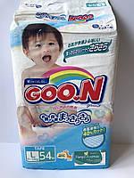 Подгузники Goo.N Гун L 54 шт. (9 - 14 кг)