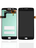 Дисплей (экран) для Motorola XT1670 Moto G5/XT1672/XT1675/XT1676 + тачскрин, черный