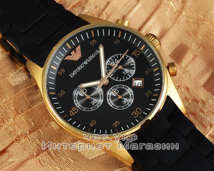 Мужские наручные часы Emporio Armani AR5905 Chronograph реплика кварц хронограф Емпорио Армани AR 5905 AR5906