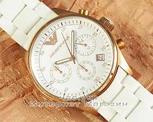 Женские наручные часы Emporio Armani AR5919 Chronograph реплика кварц хронограф Емпорио Армани AR 5919