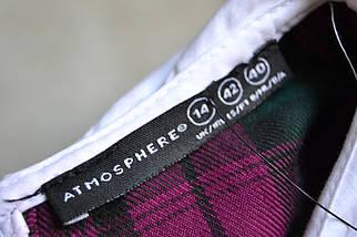 Новое платье в клеточку с воротником Atmosphere, фото 3