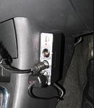 Разветвитель прикуривателя 12/24V 3 гнезда + 1 USB, фото 4