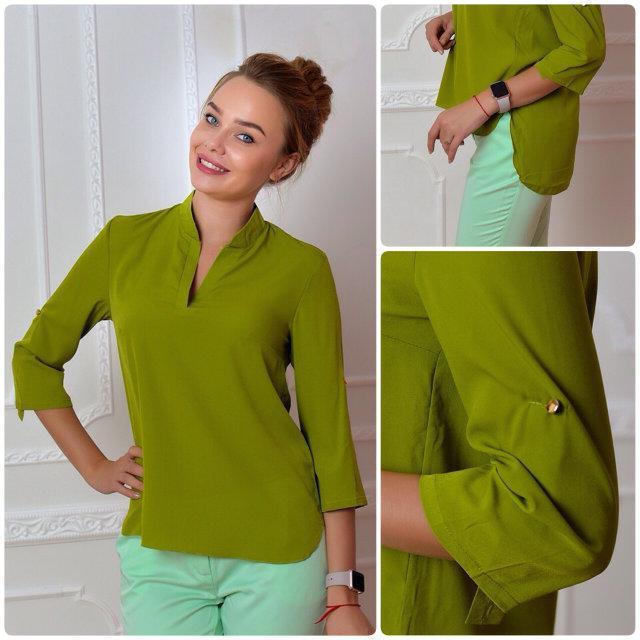 Блуза жіноча, модель 749, колір - яблуко
