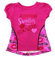 """Туника для девочки """"Kisses"""""""