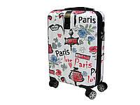 Малый поликарбонатный чемодан с ярким принтом Airtex 960 (Love), фото 1