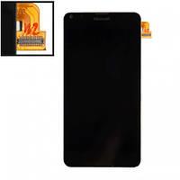 Дисплей (экран) для Microsoft 640 Lumia (RM-1072/RM-1077) + тачскрин, черный