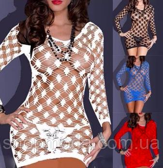Эротическое белье. Эротическое платье - сетка Livia Corsetti 2 (52 размер XL ), фото 2