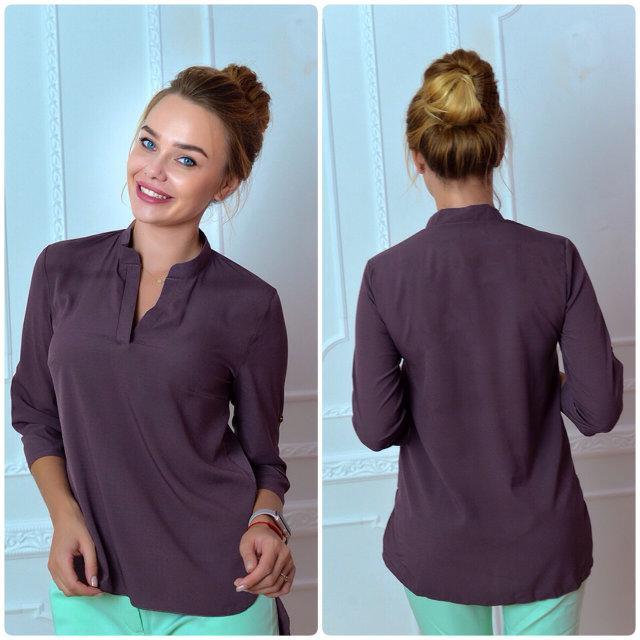 Блуза женская, модель 749, цвет - лиловый