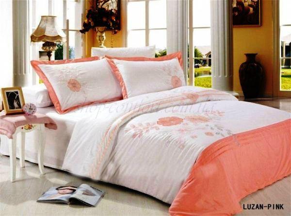 Постельное белье Le Vele Luzan Pink Евро