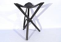 Стул раскладной 60 см кожа Ретро черный 10050/1, фото 1