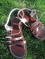 Сандалии кожаные женские. Регулир.объем. Выбор размеров.  Босоножки, сандали кожа , фото 1