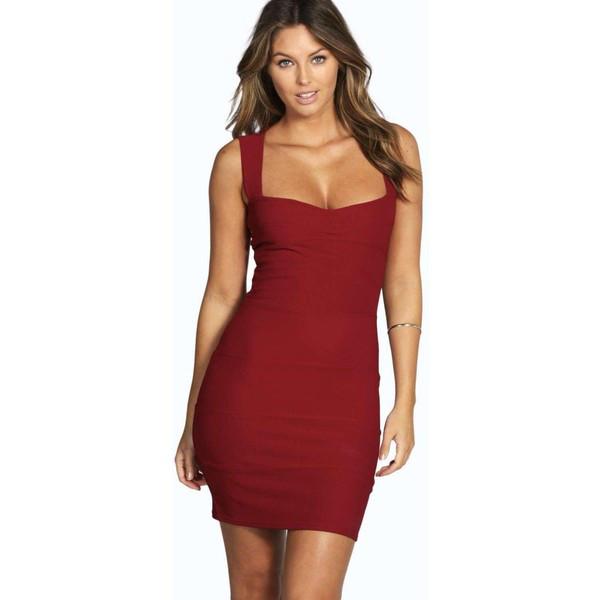 Новое облегающее платье с вырезом на спинке Boohoo
