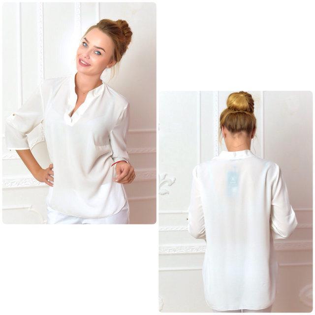 Блуза жіноча, модель 749, колір - молоко