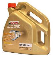 Моторное масло Castrol Edge 0W-40 А3/В4 4L