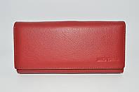 21c4f6584cf9 Кошелек на магнитах с блоком для карточек красного цвета - Marco Coverna