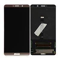 Дисплей (экран) для Huawei Mate 10 (ALP-L09/ALP-L29) + тачскрин, золотистый