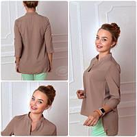 Блуза женская, модель 749, цвет - капучино
