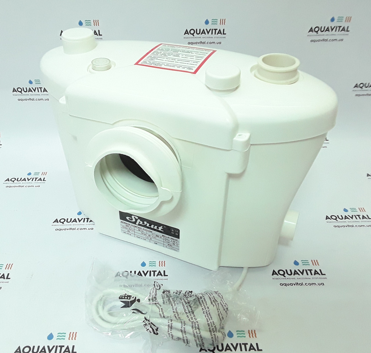 Бытовая канализационная установка Sprut WCLIFT 560/3F
