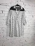 Женское стильное платье хлопок свободного кроя (3 принта), фото 5