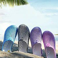 Шлёпки пляжные женские в сетку