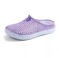 Шлёпки пляжные женские в сетку  Фиолетовый 37