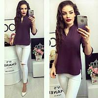 Блуза женская, модель 749, цвет - сливовый, фото 1
