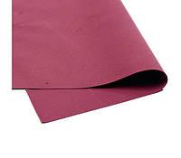 Фоамиран Эва иранский бордовый 60х70 см 1 мм