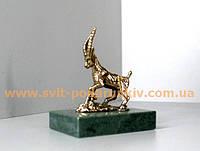 Бронзовая статуэтка Коза в подарок