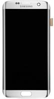 Дисплей (экран) для Samsung G935F Galaxy S7 Edge + тачскрин, белый, оригинал