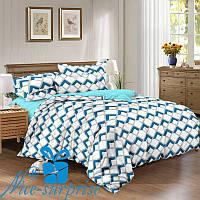 Полуторный набор постельного белья из сатина КРИСТАЛЛ (150*220), фото 1