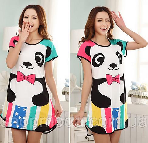 Домашнее платье с принтом ANNA  (38 размер,  размер XS ) , фото 2