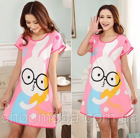 Домашнее платье с принтом ANNA  (38 размер ) , фото 2