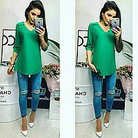 Блуза женская, модель 775, цвет - зеленая трава, фото 1