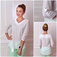 Блуза женская, модель 775, цвет - молоко, фото 1