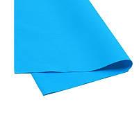 Фоамиран темно-голубой иранский 60х70 см, толщина 1 мм, Харьков