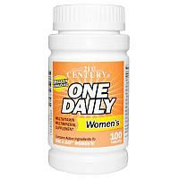 Мультивитамины для женщин 21st Century, One Daily, 100 табл.
