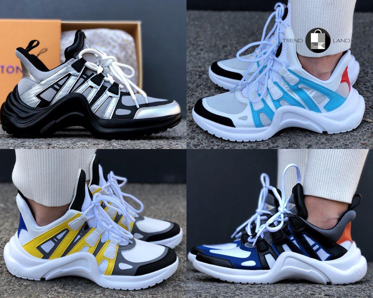 25b4d23583ec Женские кроссовки Louis Vuitton LV Archlight Sneaker 4 цвета (Реплика AAA+)  - Интернет-